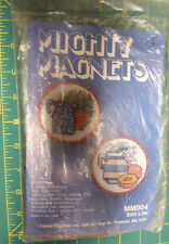 Unopened Kappie Original Mighty Magnets - Still LIfe #MM004 - Cross Stitch