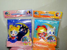 Sailor Moon 20th Anniversary LOT Venus Luna Artemis Stuffed Plush Keychains Set