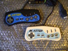 Lot of 2 Sega Mega Drive / Genesis ACE Blaster Controllers, Tested !!!