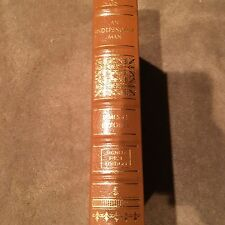 """Easton Press Signed First Edition James M. Jeffords """"An Independent Man"""""""