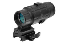 UTG 3X Magnifier with Flip-to-side QD Mount, W/E Adjustable SCP-MF3WEQS