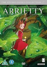 STUDIO GHIBLI    ARRIETTY    BRAND NEW SEALED GENUINE UK  DVD