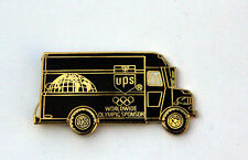 UPS Package Car HAT PIN UP TRUCK TIE TAC 2014 RUSSIA SOCHI WINTER OLYMPICS US