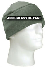DELUXE Genuine 100% Polar Fleece Military US Army Watch Cap Beanie Skull Cap NWT