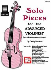 Play Solo Pieces For The Advanced Violinist VIOLIN PIANO MUSIC BOOK & ONLINE PDF