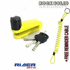 RS WARLOCK DISCLOCK DISK 5.5MM PIN REMINDER CABLE COVER FREE STEEL SCOOTER BIKE