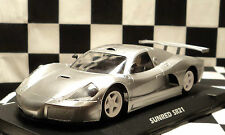 FLY 701201 Sunred SR21 Racing Metallic Silver w/ Avant Chassis & Motor Pod 1/32
