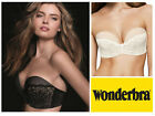 Wonderbra Ultimate Strapless Refined Glamour Bra W031U Silicone Dot * Magic Hand