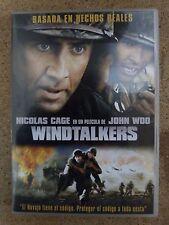 DVD,Windtalkers.Nicolas Cage,John Woo