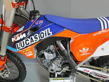 KTM SX/SXF 125-450 2013-2015 Lucas Oil Team issue replica graphics+ plastics kit