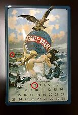 Fernet-branca Spirit Calendar Metal Pub Alcohol Wall Decor Sign