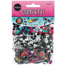 50's Style Party Tabe Decoration Confetti Rock & Roll Grease Vinyl 361276