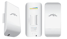 2 UBIQUITI NANOSTATION M5 LOCO ACCESS POINT 500 mW WIRELESS WIFI 13dBi CPE 5GHZ