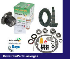 Auburn Posi Package 10 Bolt GM 8.5 4.56 Ratio Gear Set Master Bearing Kit Early