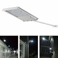 Solar Powered 12 LED Outdoor Waterproof Dusk-to-Dawn Sensor Security Flood Light