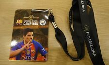 VIP TICKET Pass & Keyholder UCL 2016/17 FC Barcelona vs Manchester City