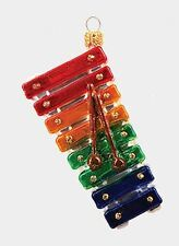 Kids Xylophone Musical Instrument Polish Glass Christmas Ornament Decoration