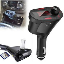 Wireless Car MP3 Player FM Radio Transmitter Modulator USB Charger SD AUX Red
