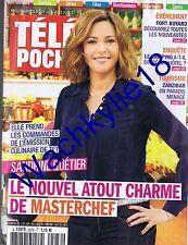 Télé Poche n°2576 du 27/06/2015 Sandrine Quétier Masterchef