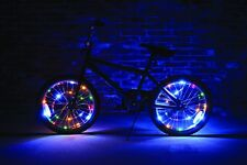 Wheel Brightz 2 Set of MULTICOLORED Lights LED Bicycle Bike For 2 Wheels