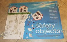 THE SAFETY OF OBJECTS movie poster GLENN CLOSE, PATRICIA CLARKSON