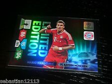 Champions League 2013/2014 Adrenalyn XL Mario Mandzukić Limited Edition