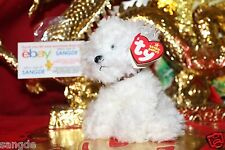TY BEANIE BABY LOLLIPUP THE BICHON FRISE PUPPY- MWNMT-2005 RELEASE-NICE GIFT
