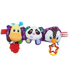 Musical Baby Hanging Rattle Newborn Infant Bed Toy Stroller Car Plush Doll Bell