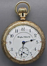 An 18s; 24 Jewel; Model 900 Rockford Railroad Grade Pocket Watch Was Made 1899!!