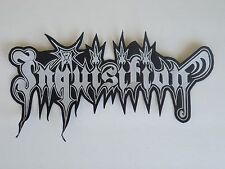 INQUISITION BLACK METAL EMBROIDERED BACK PATCH