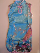 BNWT stunning Cheongsam Oriental Asian Vietnamese Chinese girls dress, 2-12