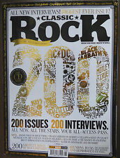 CLASSIC ROCK #200 Collectrs Ed JIMMY PAGE Mettalica BLACK SABBATH Keith Richards