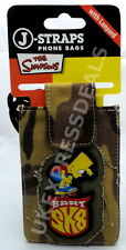 J-STRAP PHONE BAG THE SIMPSONS BART SIMPSON UNIVERSAL PHONE POUCH LANYARD