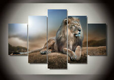 Modern Abstract Oil Painting Wall Decor Art Huge - Animal Mighty Lion King