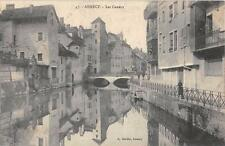 CPA 74 ANNECY LES CANAUX
