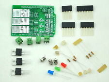 RGB LED Dimmer Shield Kit, for Arduino UNO / MEAG, Unassembled Version.