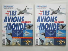 AIR & COSMOS AVIATION HS 1 AVIONS MILITAIRES MILITARY AIRCRAFT RAFALE F-117 B-2
