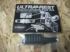 3 Pack QAD Ultra Rest HDX LD Hunter Black Felt Replacement Kit