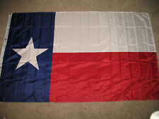 Texas Lone Star State Flag Super-Poly 5x8 foot (150D Super Polyester)