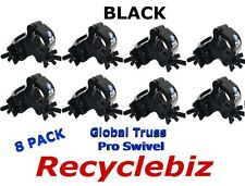 NEW! (8 PACK) Global Truss Pro Swivel Clamp (Black) Free Same Day US Shipping!