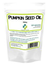 Lindens Powerful PUMPKIN SEED OIL 300mg (100 capsules) - Mens Health supplment