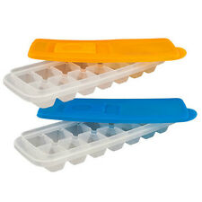ICE CUBE TRAYS WITH LIDS - SET OF 2