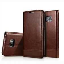 NEW Flip Leather Wallet Magnetic Stand Case Cover For Samsung Galaxy S7 Edge