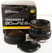 Zenza BRONICA ZENZANON-S 80mm f2.8 for SQ SQ-B SQ-A SQ-Ai SQ-Am ( 8212014 )