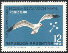 Argentina 1966 Naval School 50th/Gull/Stars/Birds/Nature/Navy 1v (n26576)