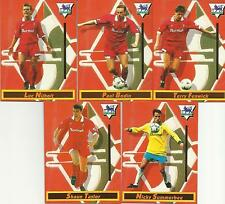 Merlin 1994 Swindon Town FC x 5 Complete Set