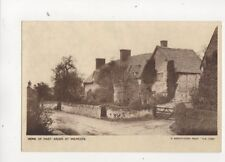 Home Of Mary Arden At Wilmcote Vintage Postcard 347b