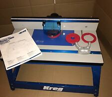 NEW KREG PRS2100 PRECISION BENCHTOP ROUTER TABLE ROUTING SYSTEM