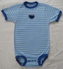 "Adult Baby 44-49"" COOKIE MONSTER Cotton Knit Onesie, by LL"