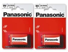 2 x 1 Pcs Pack Panasonic 6F22R-1BP 9v Size Battery - Brand New
